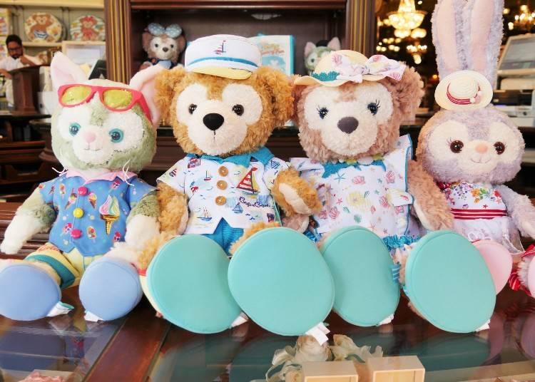 玩偶服飾套組(コスチュームセット)各4800日圓 ※布偶(S)需另外購買 ※LIVE JAPAN取材