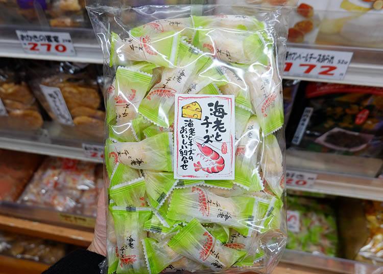 鮮蝦和起士(海老とチーズ)200g 參考售價 853日圓(未含稅)