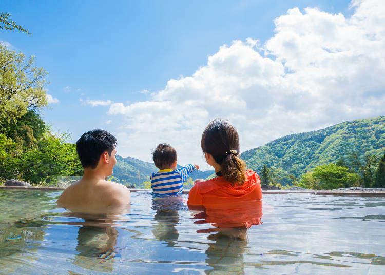 穿泳衣泡湯也OK?!適合外國旅客前往的箱根超人氣溫泉設施三選