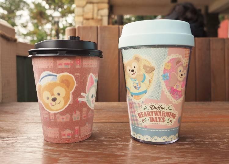 加價1,200日圓可獲紀念隨行杯(照片右邊)