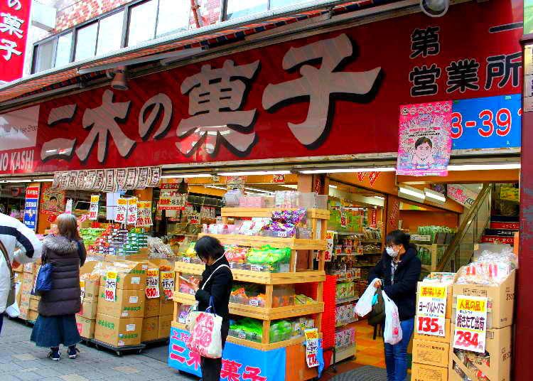 緊緊抓住外國觀光客的心!上野阿美横丁・二木的菓子熱銷排行前10名大公開