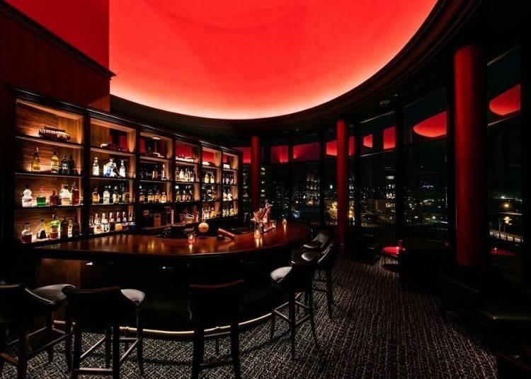 Bar Lounge的室內裝潢集結了許多優雅元素。