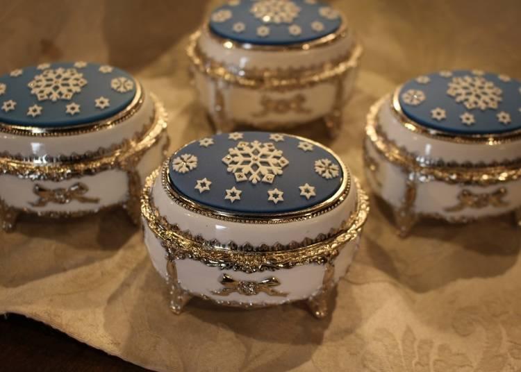 雪之結晶音樂盒(4320日圓)
