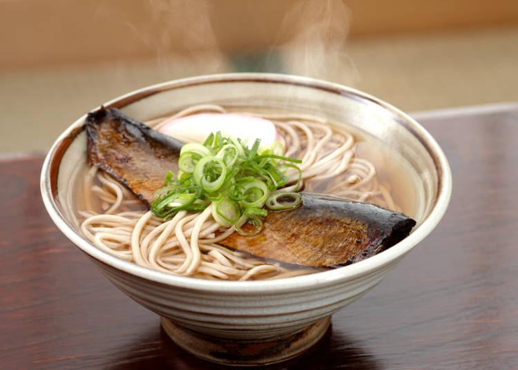 鯡魚蕎麥麵