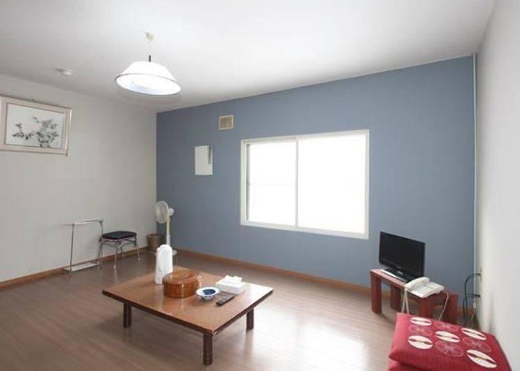 也設有付費的單間休息室〈1間1小時3,000日元〉