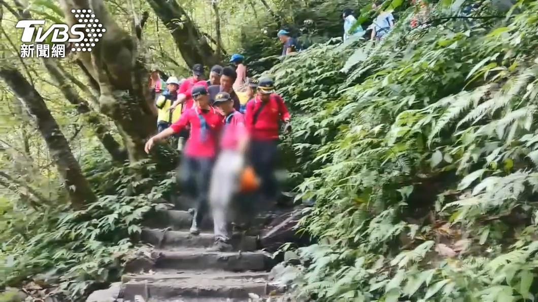 爬網美景點「抹茶山」 45歲男山友昏倒不治