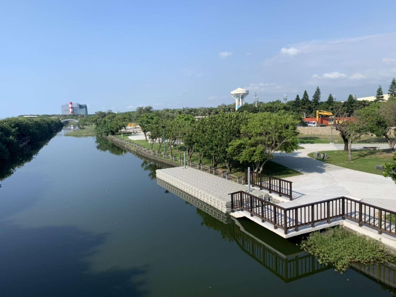 新竹市民以後想划獨木舟不用再跑新北、宜蘭,淨水工程完成後,在港南運河就可以進行親水活動。圖:翻攝自新竹市政府官網