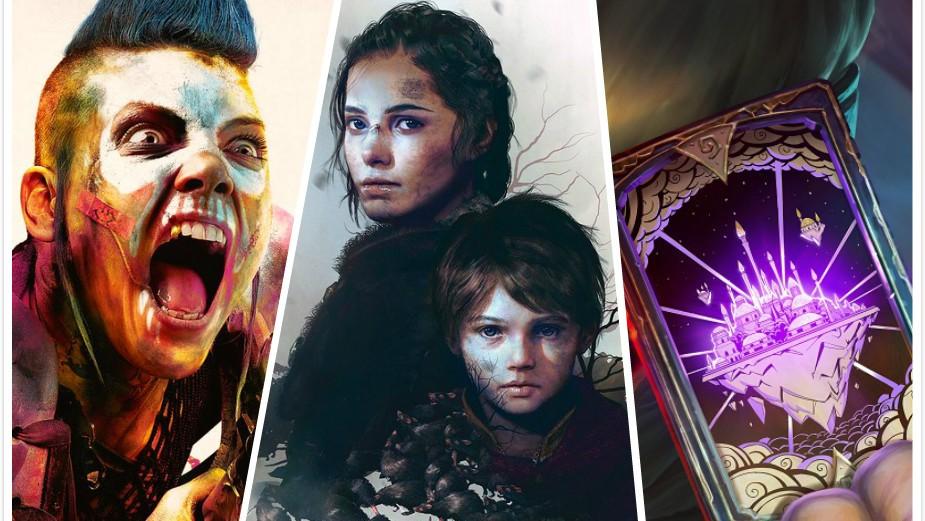 (左起)《狂怒煉獄2》、《瘟疫傳說:無罪》、《達拉然大劫案》可說是本週三款重點新作。