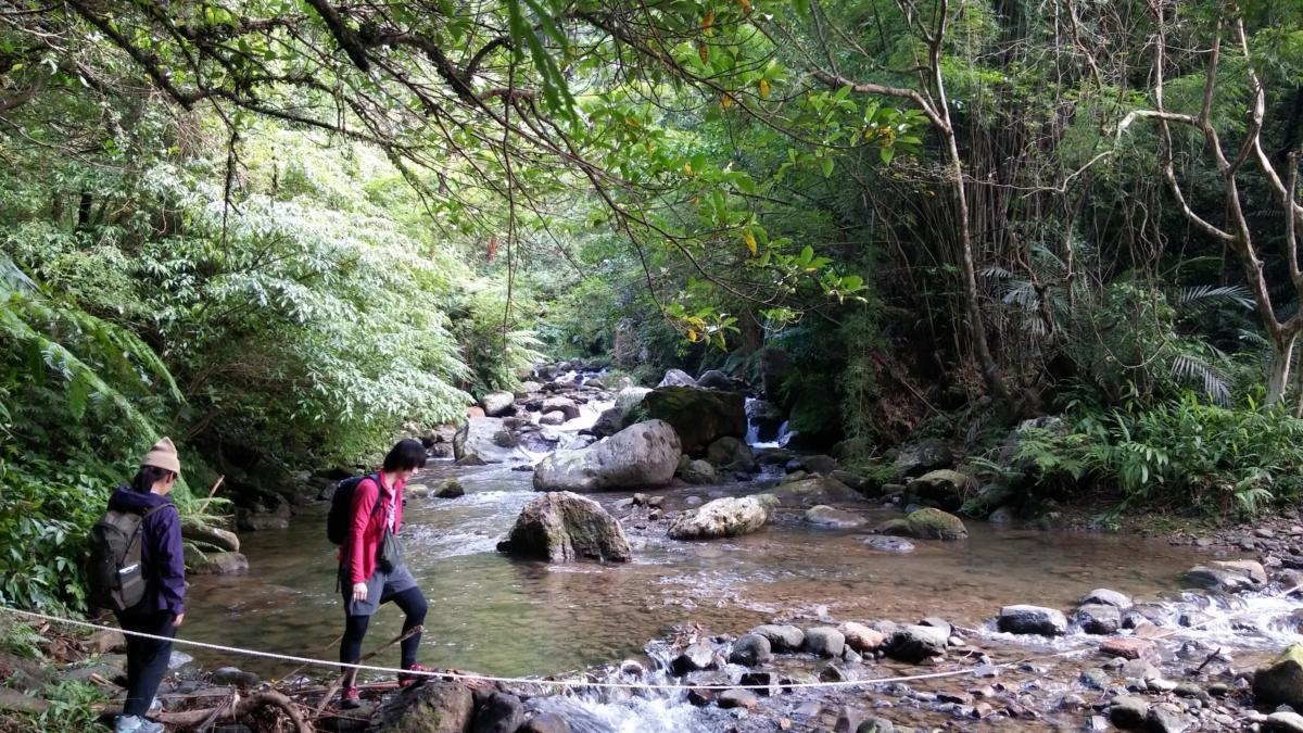 楊廷理古道是清代台灣山區最早的一條官道。圖:新北市觀光局/提供