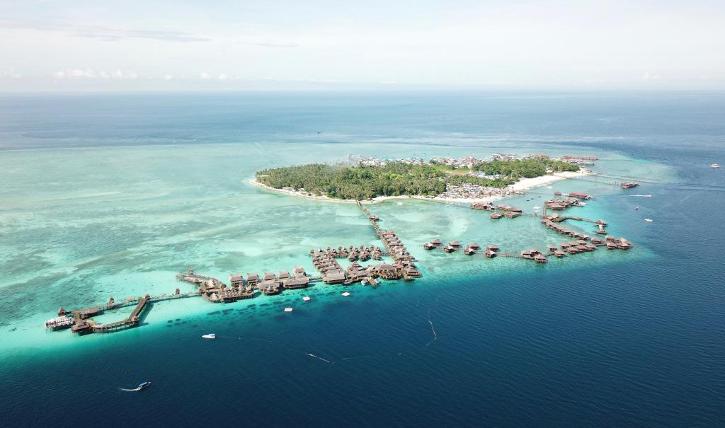 馬來西亞沙巴的馬布島,被譽為「漫潛天堂」。圖:馬來西亞觀光局/提供