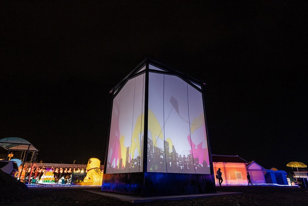 台灣燈會作品屏安時光。圖:屏東縣政府/提供