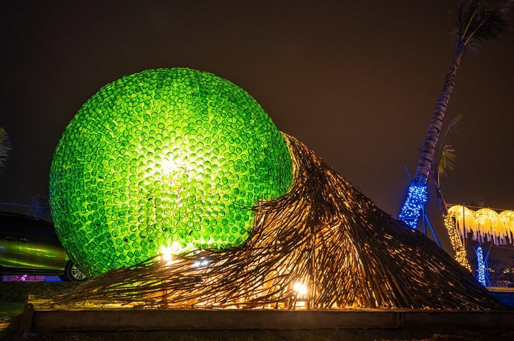 台灣燈會作品恆春風巢。圖:屏東縣政府/提供