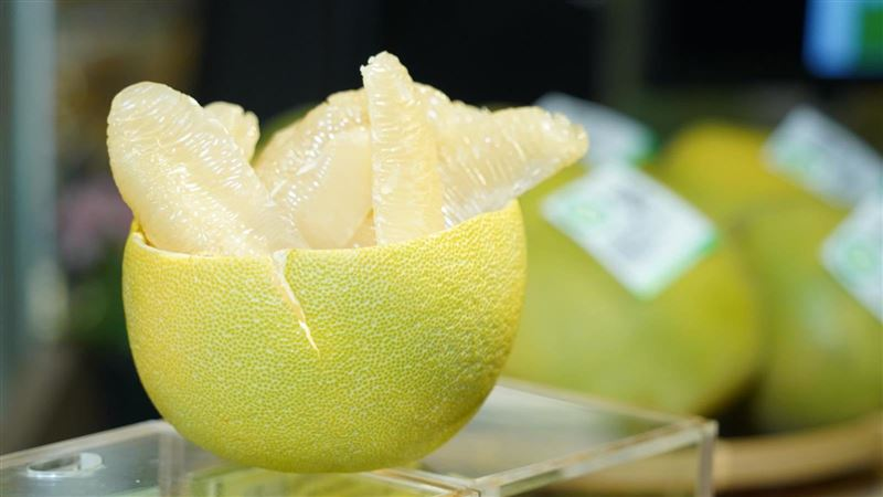 柚子能潤肺、補血。(圖/農委會提供)