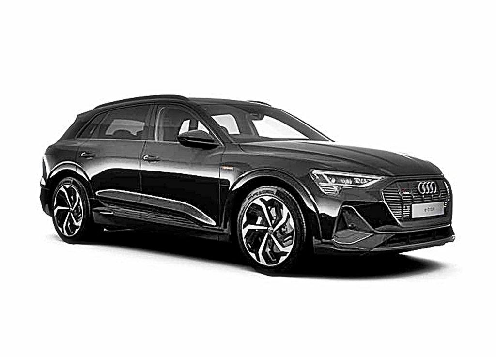 AUDI首款電動車e-tron SUV推出小改款,車內數位科技大進化