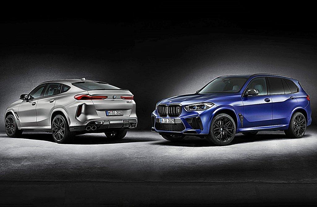 BMW X5M 和X6M Competition First Edition首發限量版開賣,但過