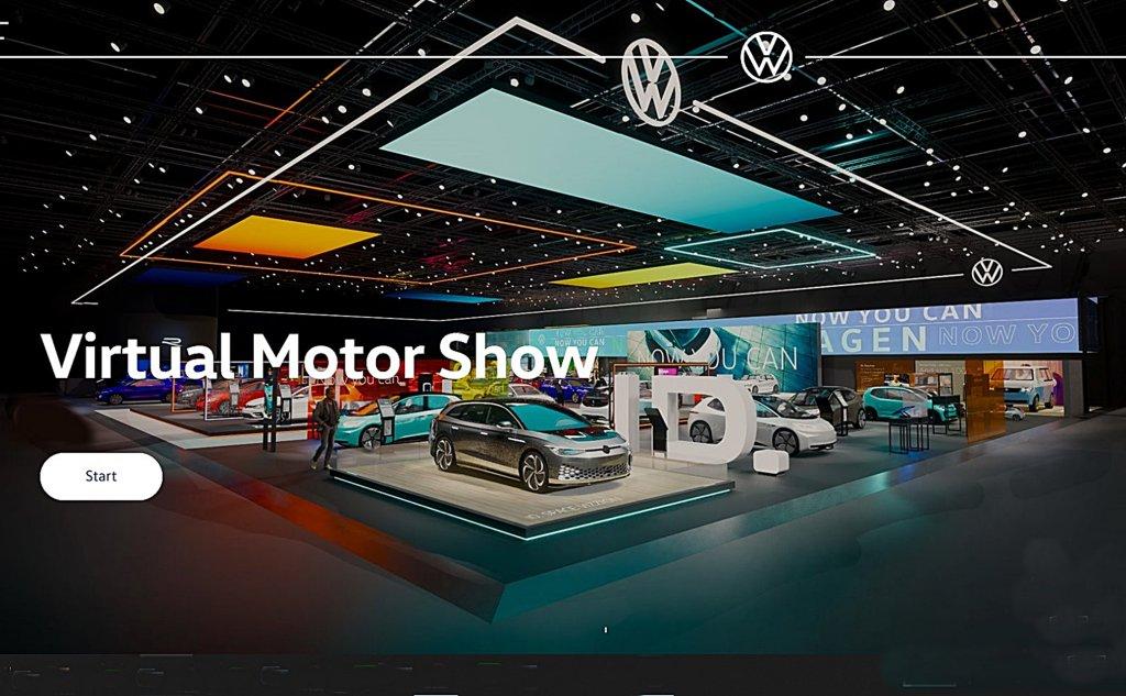 疫情帶動汽車線上消費,VW福斯汽車打造線虛擬車展找到更多潛在買