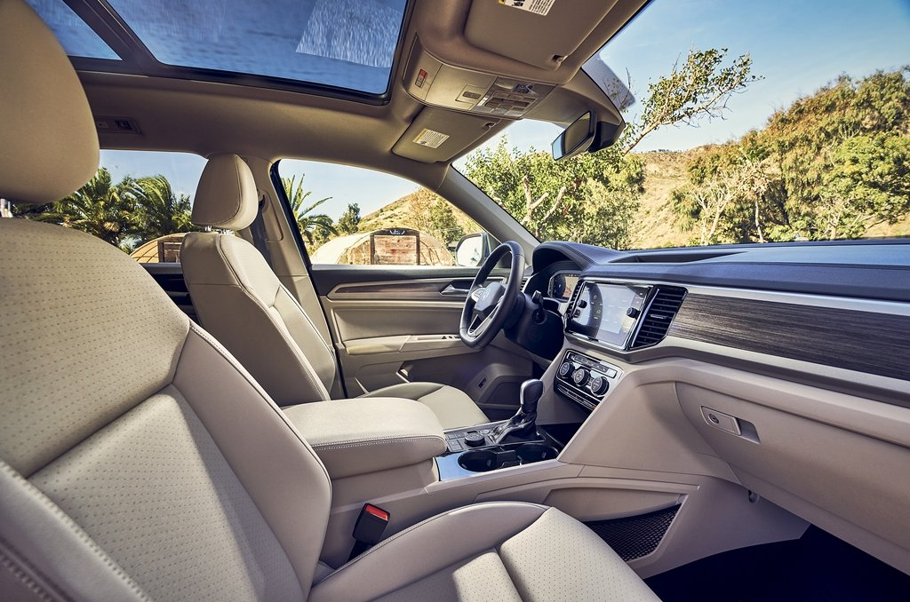 VW推出2021年式七座休旅Atlas,時尚與科技同步升級