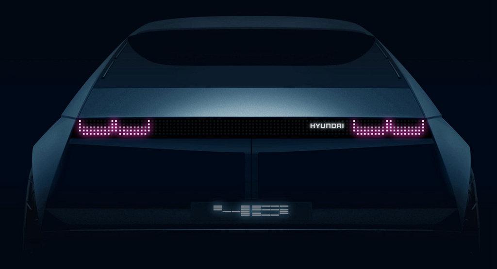 懷舊又創新,HYUNDAI 45概念電動車融合現代與復古