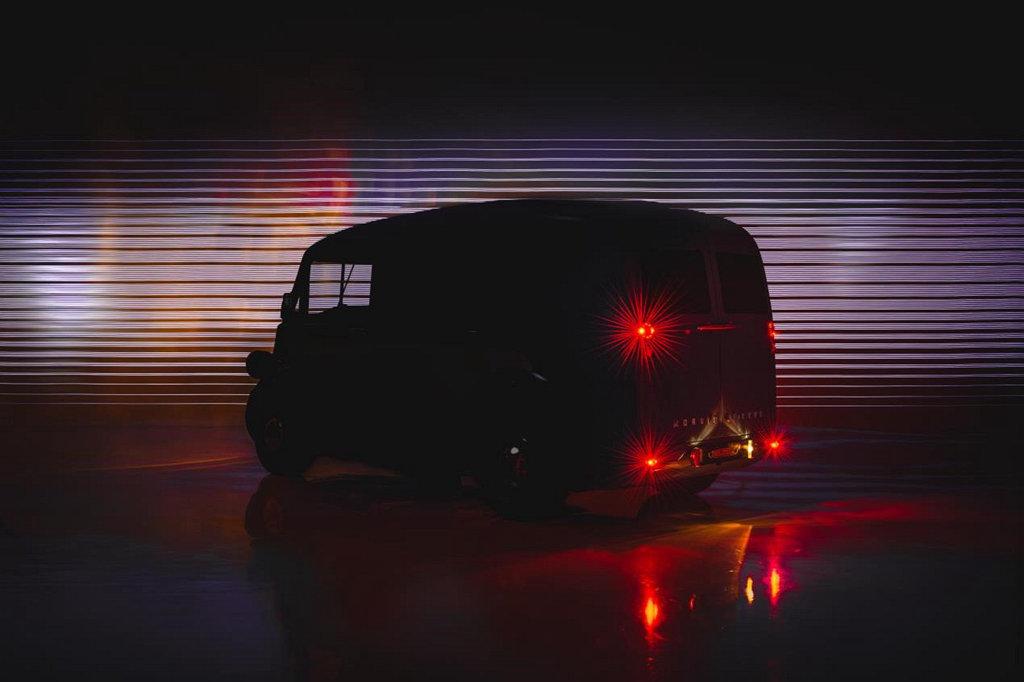 經典老牌大復活,MORRIS Commercial將以JE小型電動廂型車重返市