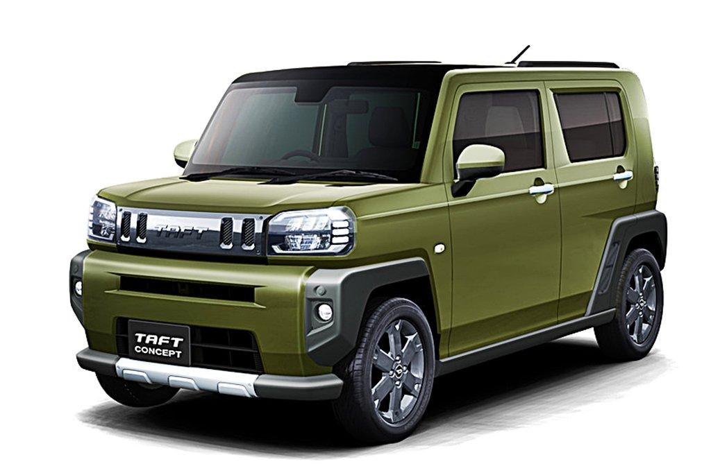 DAIHATSU小車再出擊,TAFT Concept跨界休旅登場