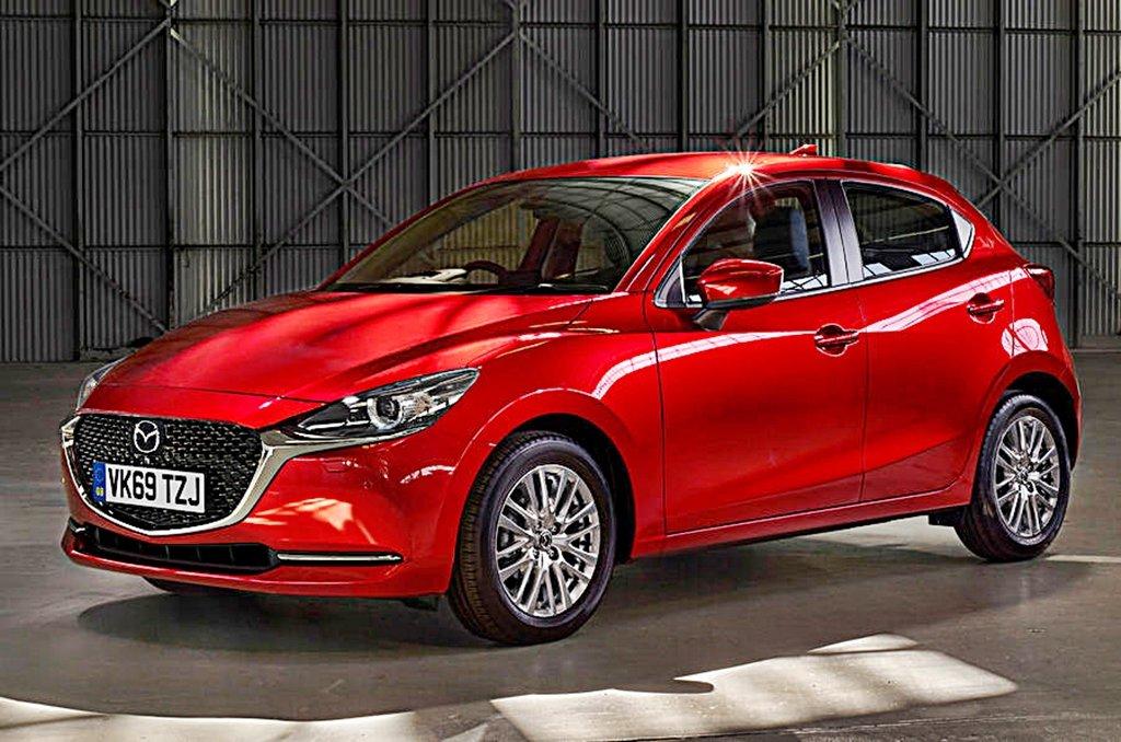 MAZDA旗下Mazda2小改款追加微型油電系統,動態表現更上層樓