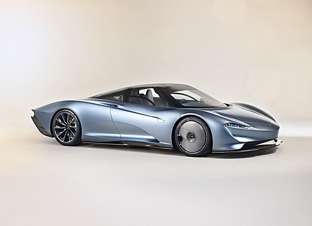McLAREN推出全新且尚未命名的Speedster開頂雙座跑車