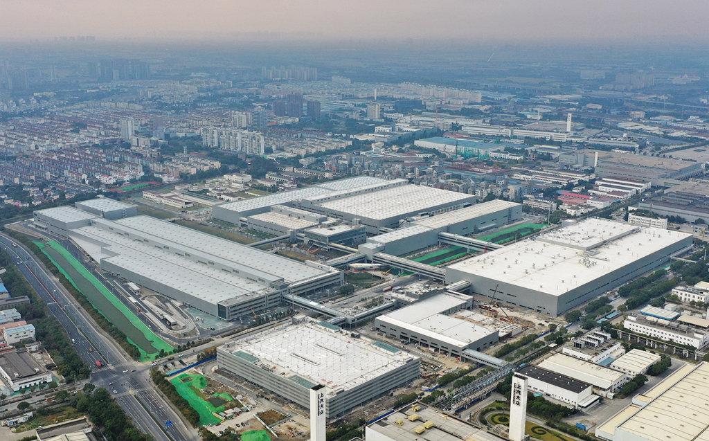 上汽大眾上海安亭新廠正式完工,ID電動車開始上線試裝