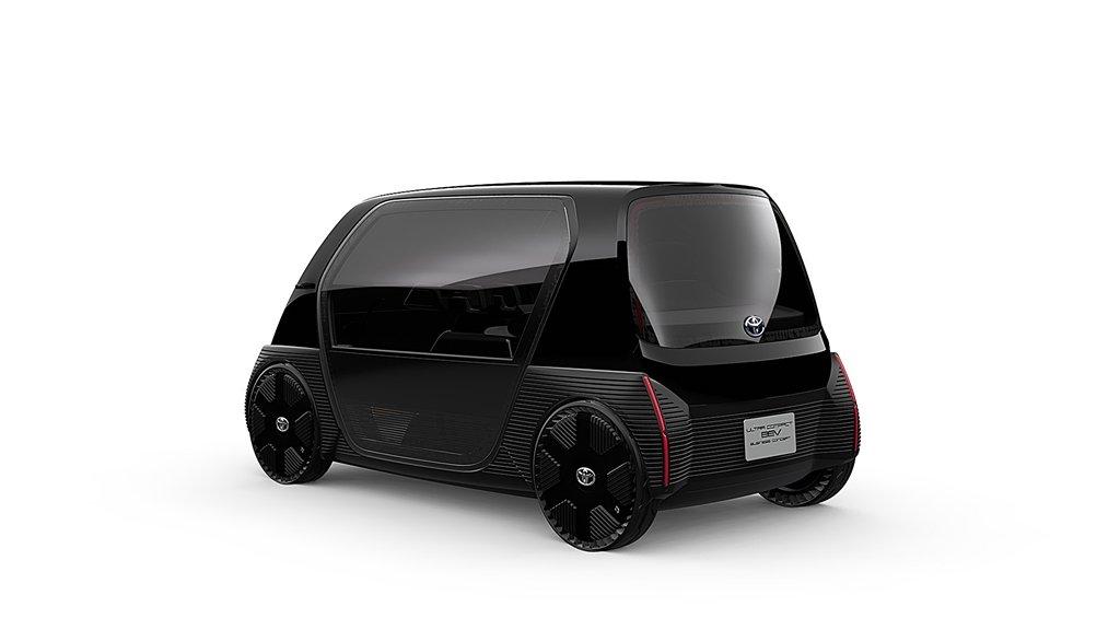 TOYOTA推出即可量產的雙座超迷你電動車2020年開賣
