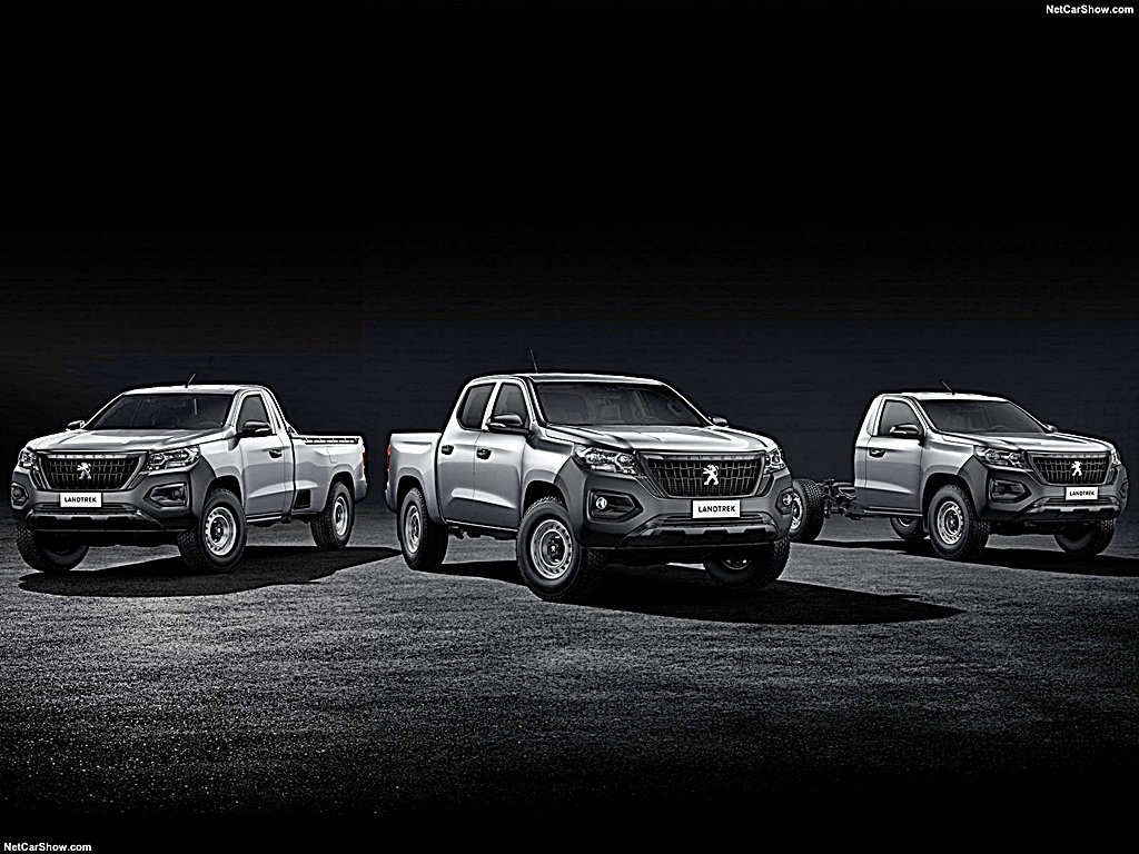 PEUGEOT推出豪華高檔的皮卡休旅Landtrek共有三種不同的車身配置