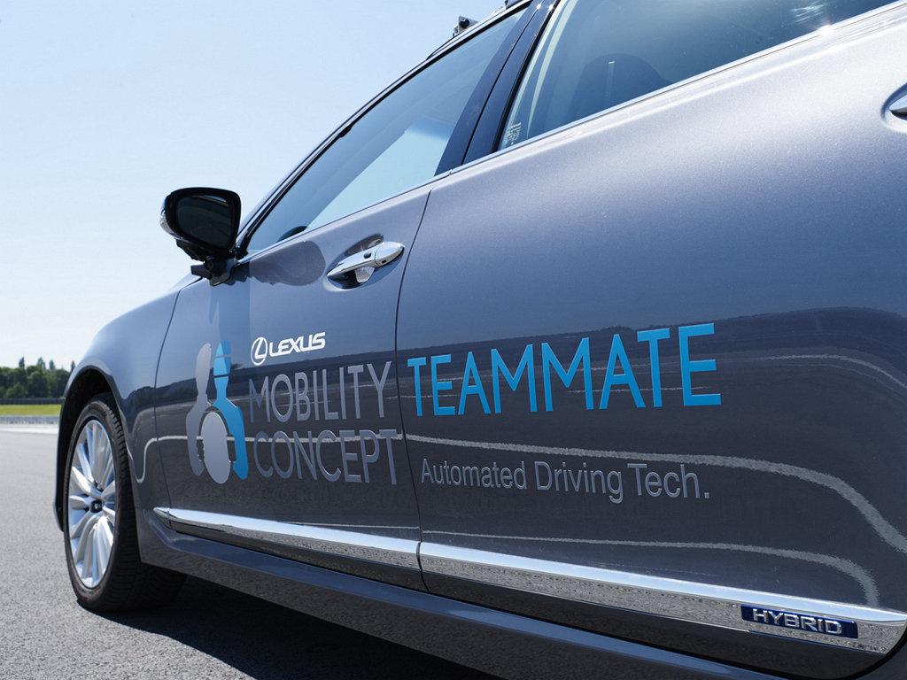 前進歐洲,LEXUS LS自動駕駛車將開上布魯塞爾街頭進行測試