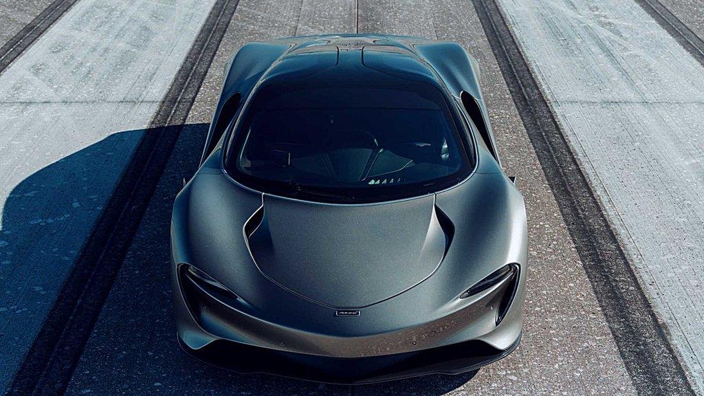 地表最速超跑McLAREN Speedtail創造430公里�小時的極速紀錄
