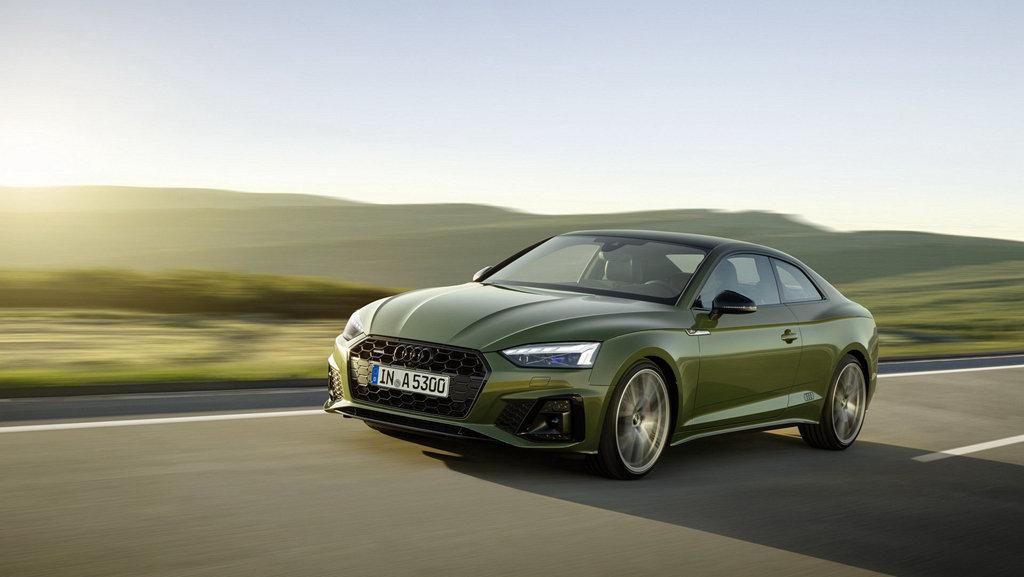 更具魅力,AUDI小改款A5車系變臉亮相