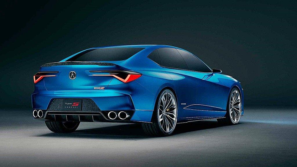 ACURA全新四門概念轎跑Type S Concept,勾勒品牌下一世代跑車的