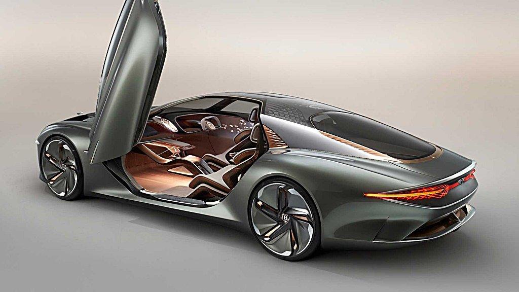 賓利百周年電動概念車EXP 100 GT首發,預告未來完全自動駕駛的旅