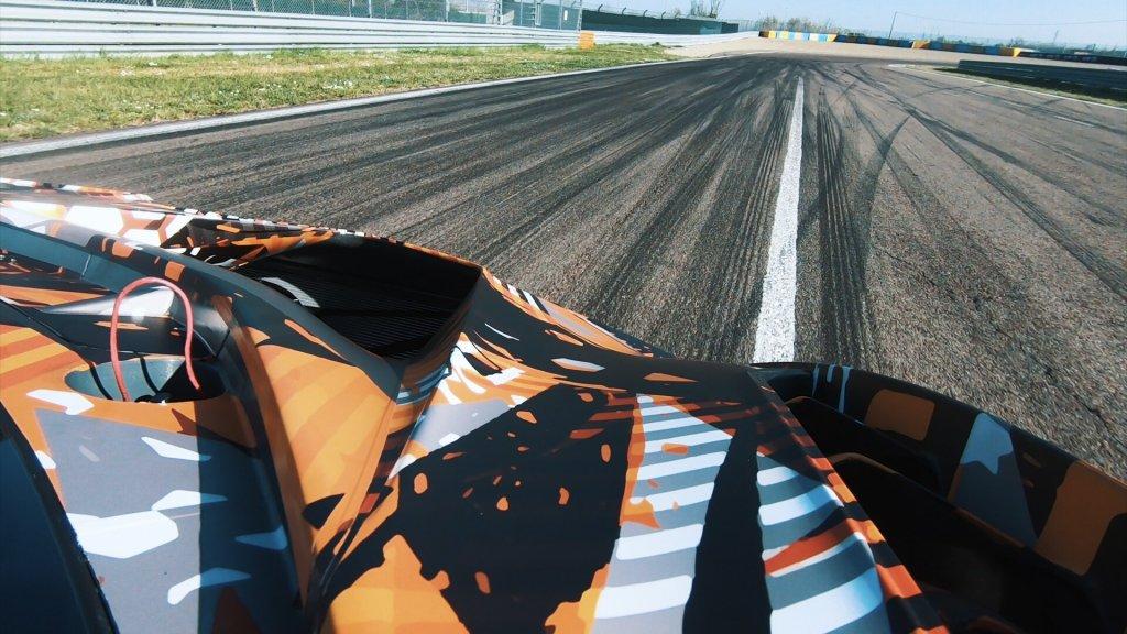 狂牛現「聲」,LAMBORGHINI賽道用V12超跑預計2020年第二季發表
