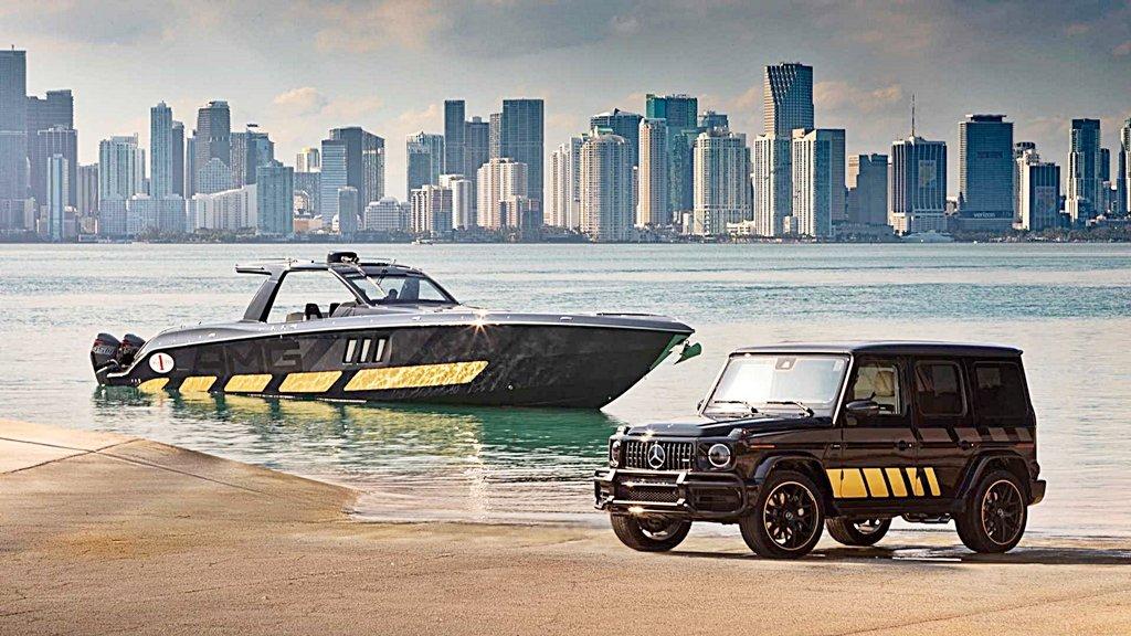 性能車與快艇結合,賓士與快艇公司合作設計Tirranna AMG Edition