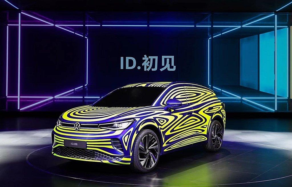 福斯ID家族第二發ID.4電動跨界休旅提前亮相,2020年量產上市