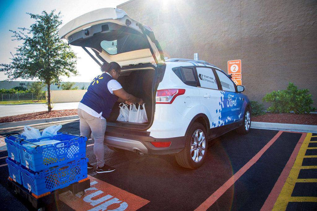 上看一兆美元的價值,Walmart投入自動駕駛物流市場
