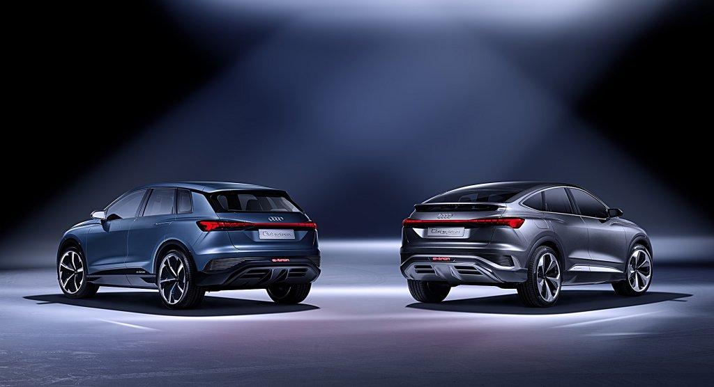 AUDI推出品牌第二款純電動車Q4 Sportback e-tron Concept,最大