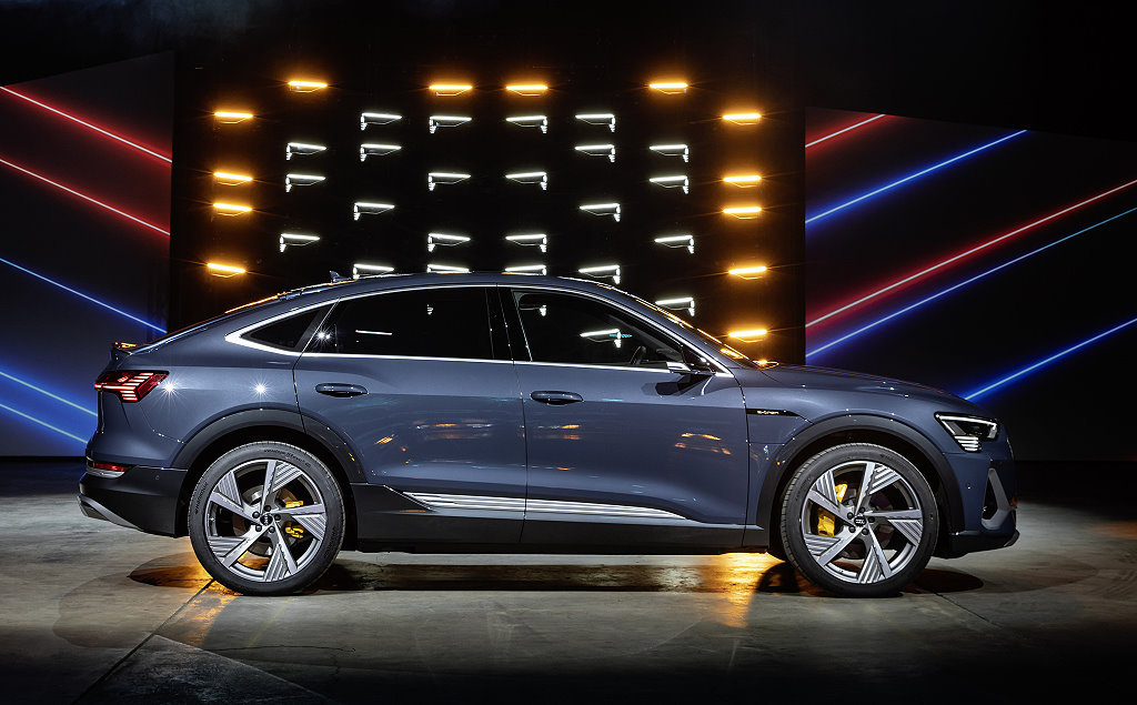 AUDI e-tron Sportback歐洲正式報價!