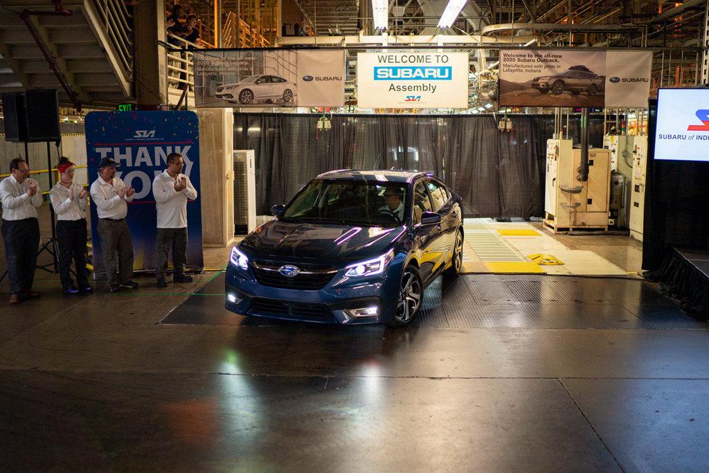 無懼SUV浪潮,全新世代SUBARU Legacy、Outback量產下線
