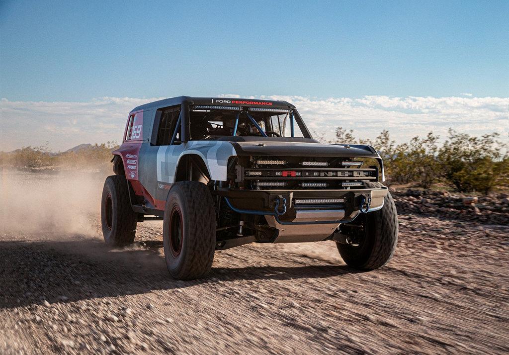 參與Baja 1000賽事,FORD Bronco R原型賽車將挑戰惡地