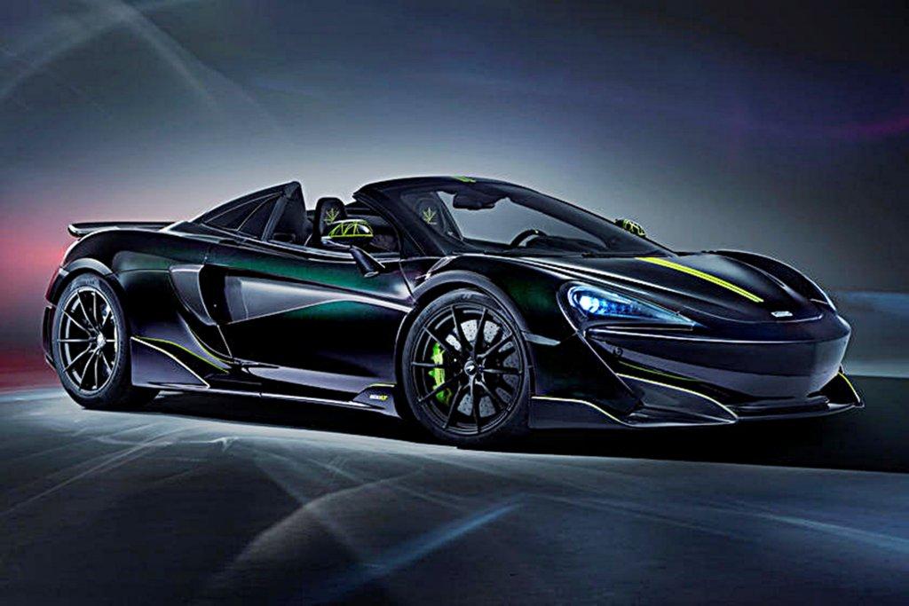 以毒蜘蛛為靈感,McLaren推出限量敞篷超跑600LT Spider Segestri