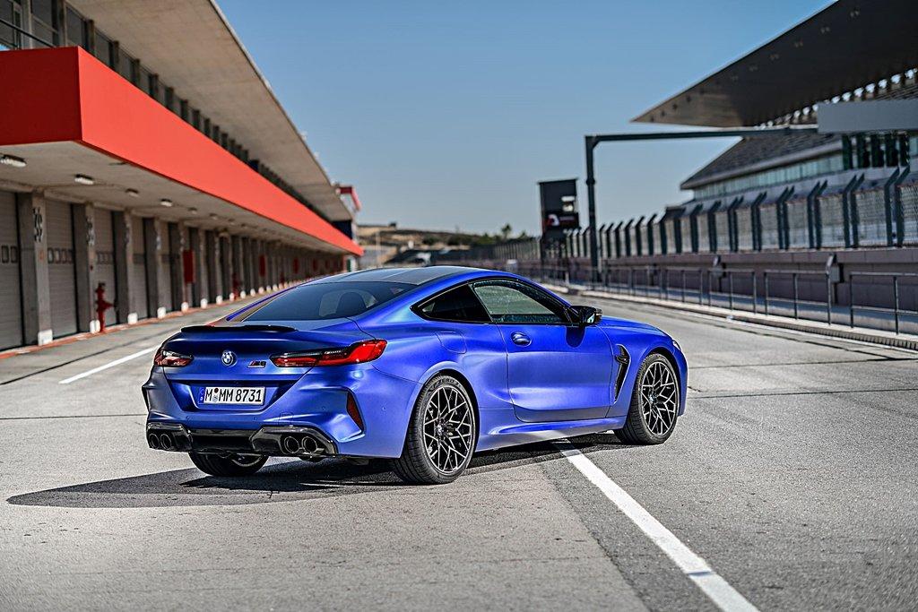 性能車搭配好胎如虎添翼,Pirelli倍耐力為BMW M8量身打造P Zero