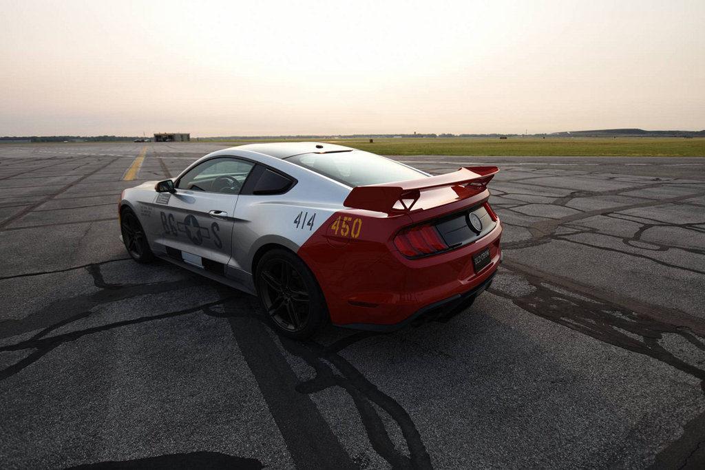 再度向經典戰機致敬,FORD與Roush聯手打造Mustang GT Old Crow