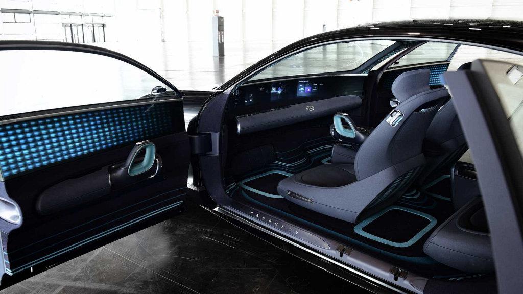 「預言」品牌未來,HYUNDAI公布Prophecy純電概念車相關細節