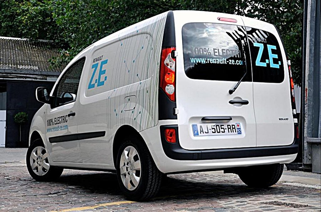 RENAULT推出氫燃料增程電動車Kangoo ZE和Master ZE Hydrogen,純