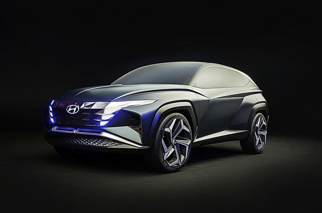 HYUNDAI概念休旅Vision T設計驚艷,結合PHEV油電動力