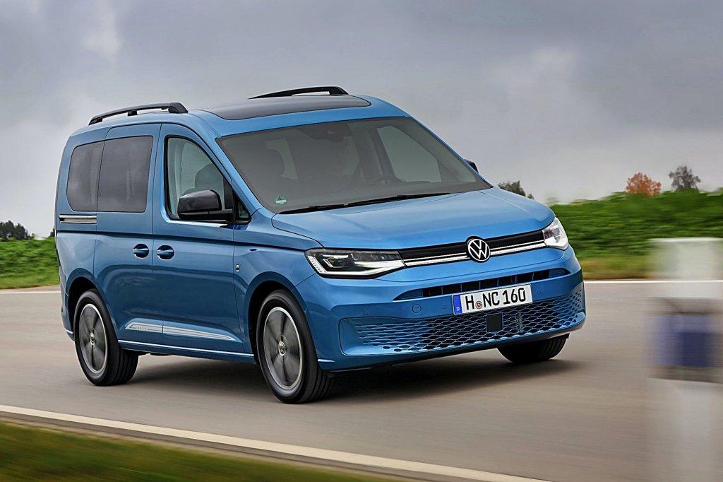 VWCV全新2021年式Caddy歐洲搶先上市,車型編成與性能數據完整公