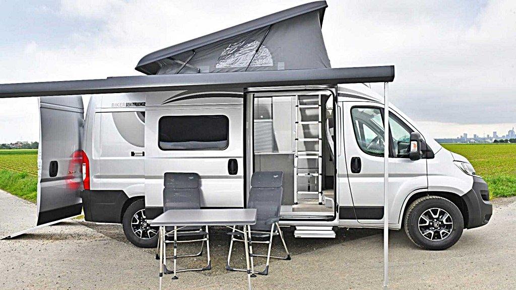 不只露營,CITROEN發表全功能露營車Jumper Biker Solution Multi